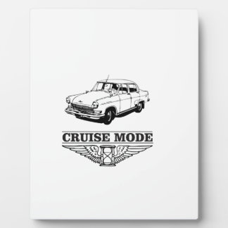 the cruise mode plaque