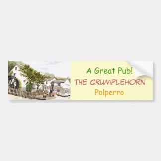 'The Crumplehorn' Bumper Sticker