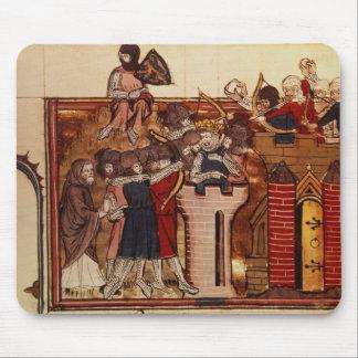 The Crusader assault on Jerusalem Mouse Pad