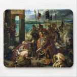The Crusaders' entry into Constantinople Mouse Pad