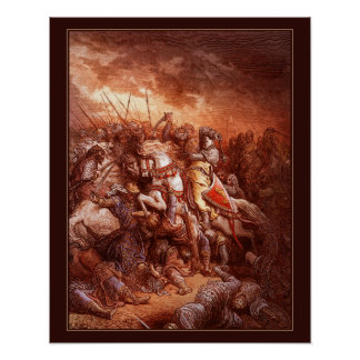 The Crusades of Gustave Doré to color 11 Poster