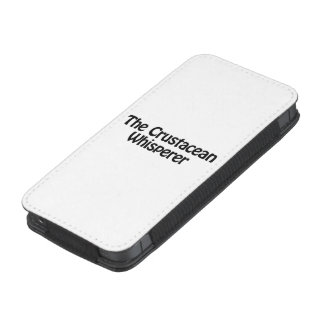 the crustacean whisperer iPhone 5 pouch