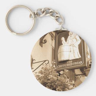 The Crutched Friar pub London Basic Round Button Keychain