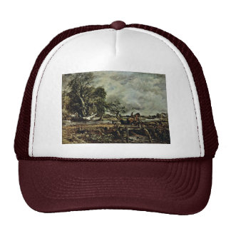 The Crux Of The Horse By John Constable Best Qual Mesh Hats