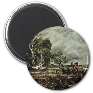 The Crux Of The Horse By John Constable (Best Qual Refrigerator Magnets