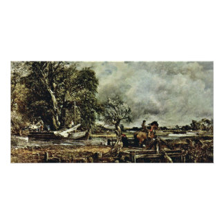 The Crux Of The Horse By John Constable (Best Qual Photo Greeting Card