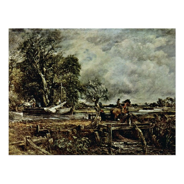 The Crux Of The Horse By John Constable (Best Qual Postcard