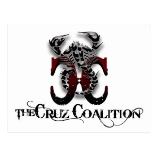 The Cruz Coalition Logo Postcard