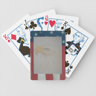 The Crying Eagle Bicycle Playing Cards