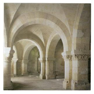 The Crypt, c.1144 (photo) Ceramic Tile
