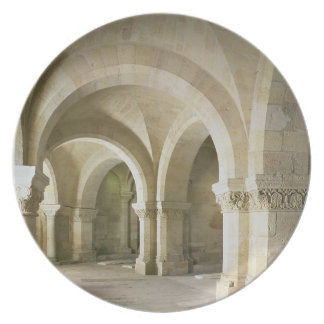 The Crypt, c.1144 (photo) Dinner Plate