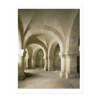 The Crypt, c.1144 (photo) Postcard