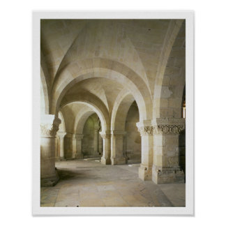 The Crypt, c.1144 (photo) Poster