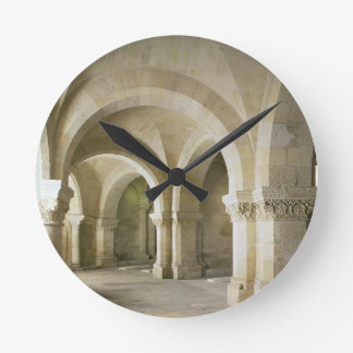 The Crypt, c.1144 (photo) Round Clock