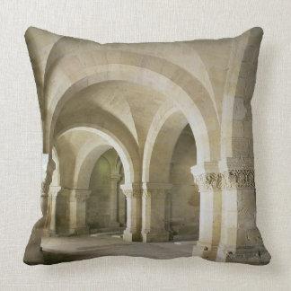 The Crypt, c.1144 (photo) Throw Pillow