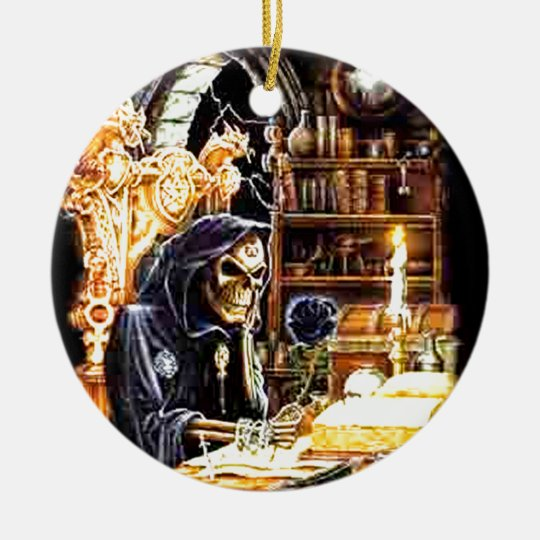 The Crypt Keeper Ceramic Ornament