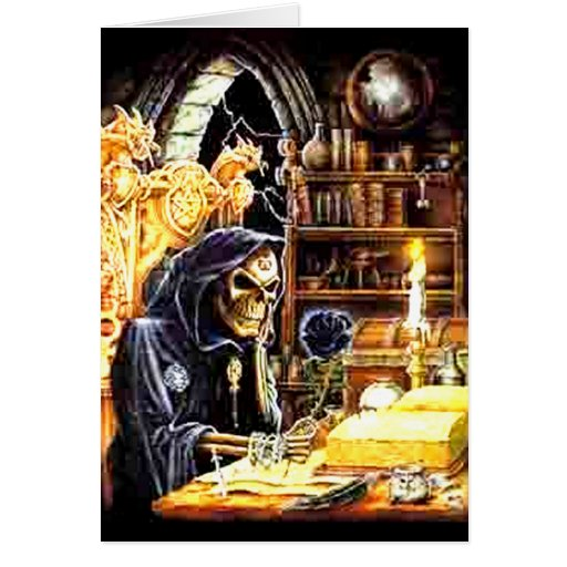 The Crypt Keeper Greeting Cards