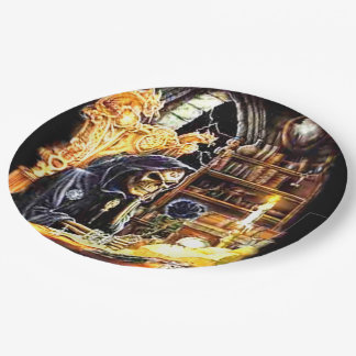The Crypt Keeper Paper Plate