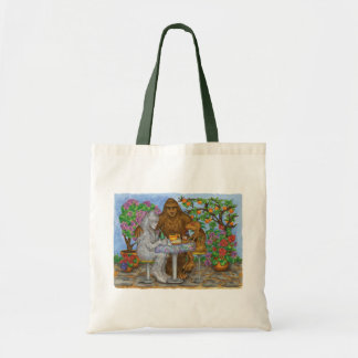 The Cryptid Café Tote Budget Tote Bag