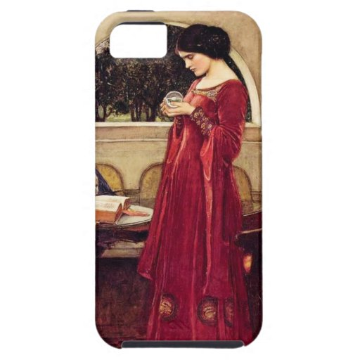 """""""The Crystal Ball"""" by John William Waterhouse iPhone 5 Covers"""