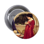 """The Crystal Ball"" by John William Waterhouse Pin"