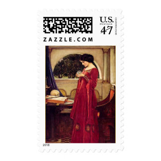 """The Crystal Ball"" by John William Waterhouse Postage"