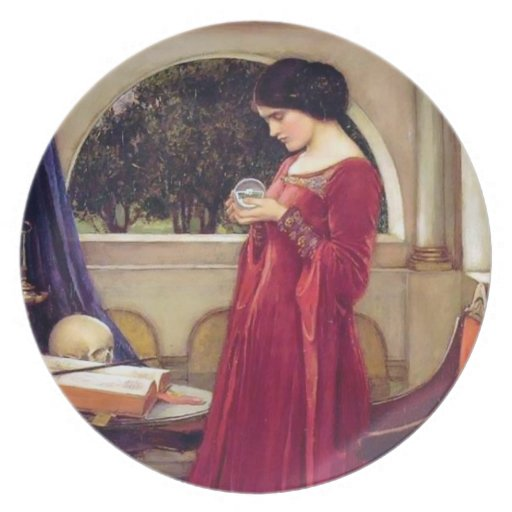 The Crystal Ball - Plate