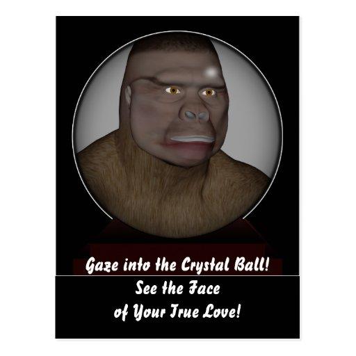 The Crystal Ball Postcard