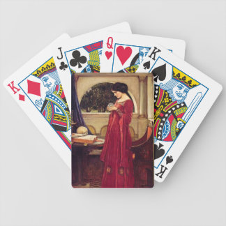 The Crystal Ball Pre-Raphaelite Playing Cards