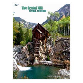 The Crystal Mill in Crystal Colorado Postcard