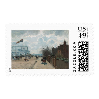 The Crystal Palace ~ Camille Pissarro Postage