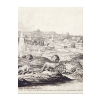 The Crystal Palace Canvas Print