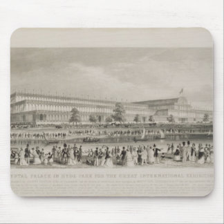 The Crystal Palace in Hyde Park for the Great Inte Mouse Pads