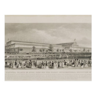 The Crystal Palace in Hyde Park for the Great Inte Postcard