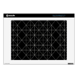 The Crystal Temple Sacred Geometry Acer Chromebook Skin