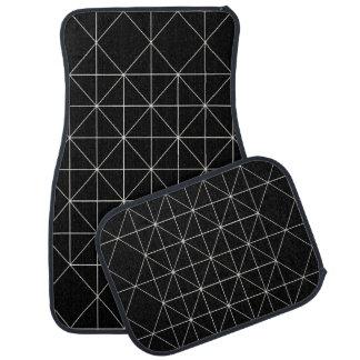 The Crystal Temple Sacred Geometry Car Floor Mat