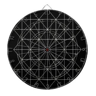 The Crystal Temple Sacred Geometry Dartboard