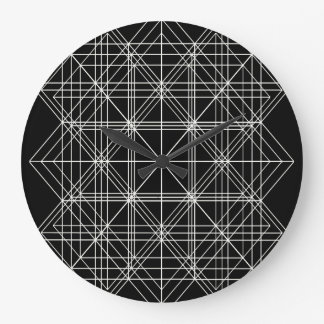 The Crystal Temple Sacred Geometry Large Clock