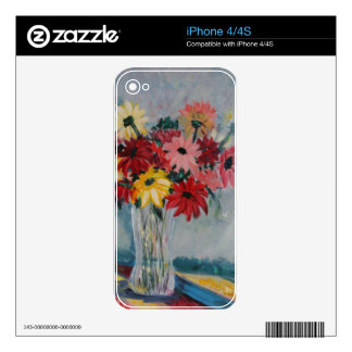 The Crystal Vase Skin For iPhone 4