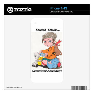 The Cucuy and the Cat Gaming Iphone case iPhone 4 Skin