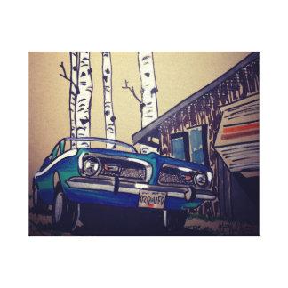 the cuda canvas print