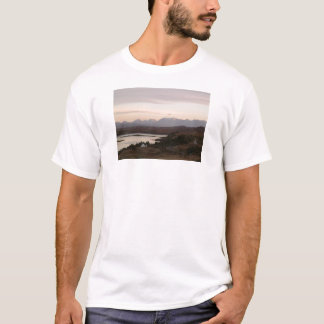 The Cuillin Mountains At Isle Of Skye In Scotland. T-Shirt