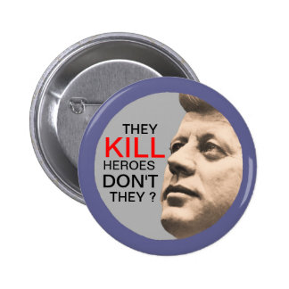 The Cult of JFK Pinback Button