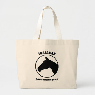 The Cult of People Owned by a Horse Canvas Bag