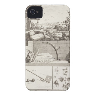 The cultivation of cotton, from the 'Encyclopedia' iPhone 4 Cover