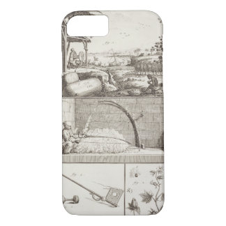 The cultivation of cotton, from the 'Encyclopedia' iPhone 8/7 Case