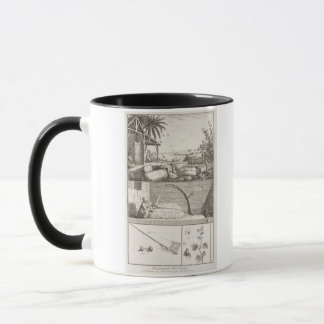 The cultivation of cotton, from the 'Encyclopedia' Mug