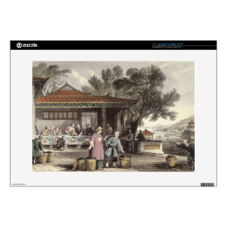 The Culture and Preparation of Tea, from 'China in Decal For Laptop