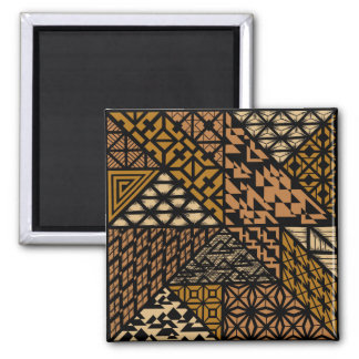 """The Culture"" (Brown) Square Magnet"