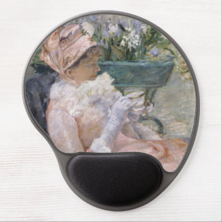 The Cup of Tea by Mary Cassatt Gel Mouse Pad